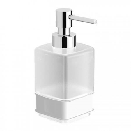 Емкость для дозатора жидкого мыла стекло Glass KB9933