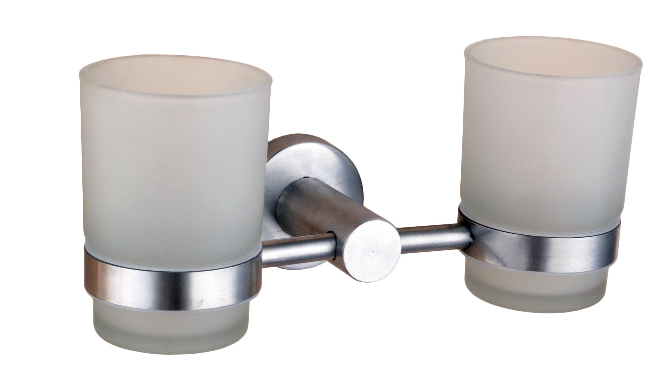Двойной стакан для зубных щеток